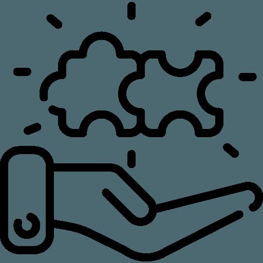 kontur dłoni